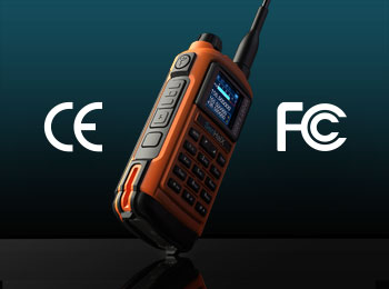 SenHaiX 8800 Dual band Walkie talkie Has Been Certified by European CE and American FCC